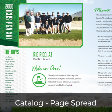 Catalog - Page Spread Preview