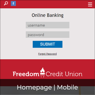 Homepage - Mobile Preview