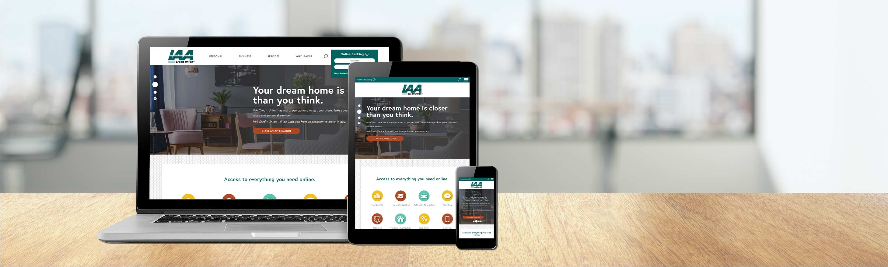 IAA Credit Union Header Image