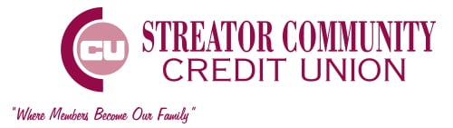 Streator Community Credit Union. Where Members Become Our Family.