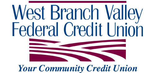 West Branch Valley Federal Credit Union. Your Community Credit Union.